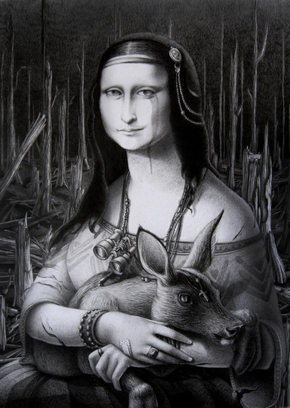 La Gioconda by Lena Klyukina