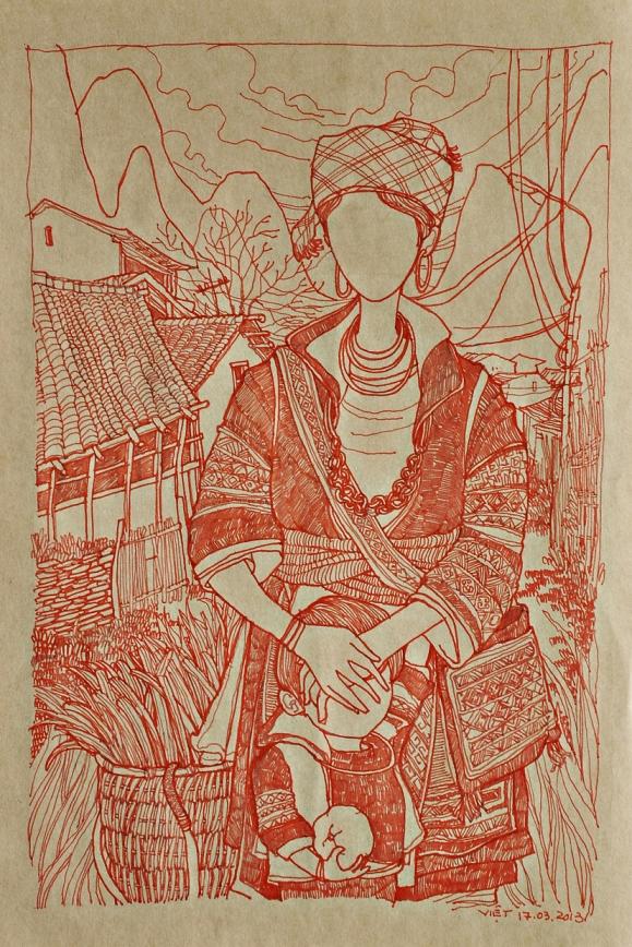 La Gioconda by Dang Duc Viet