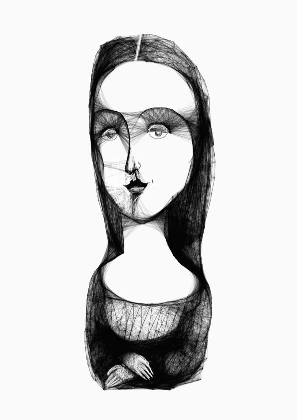 La Gioconda by Yulia Telezhnikova