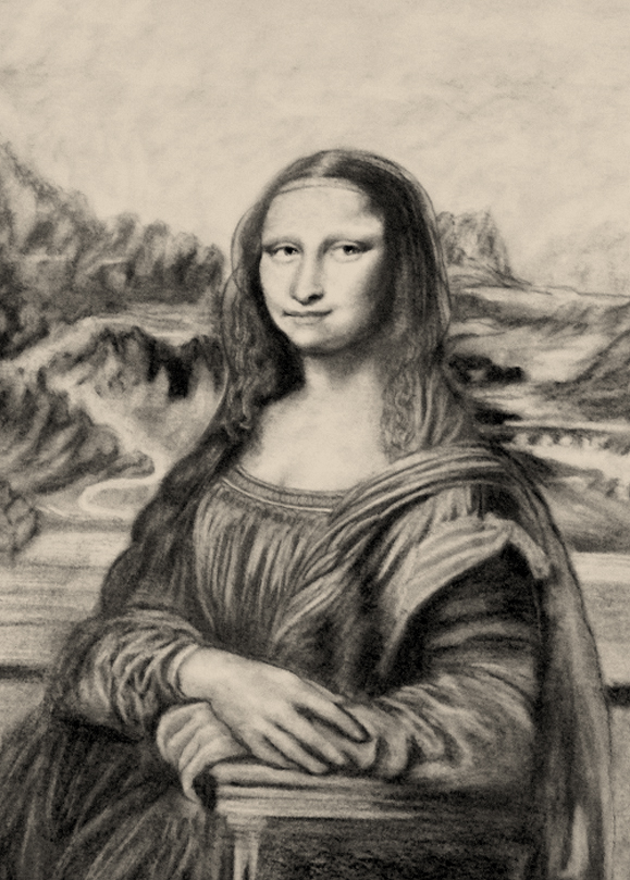 La Gioconda by Line-Art