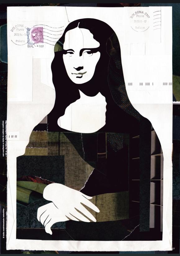 La Gioconda by Michela Mazzoli