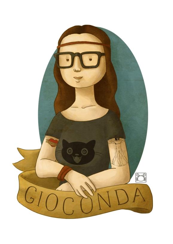 La Gioconda by Débora Cabral