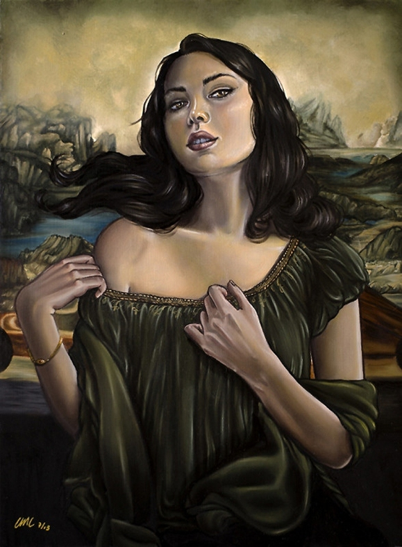 La Gioconda by Christina Lank