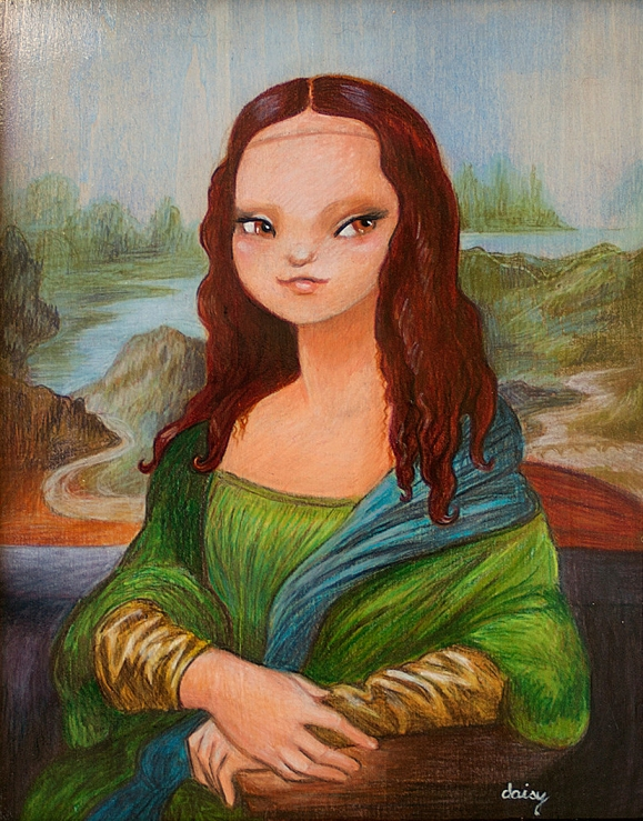 La Gioconda by Daisy Church
