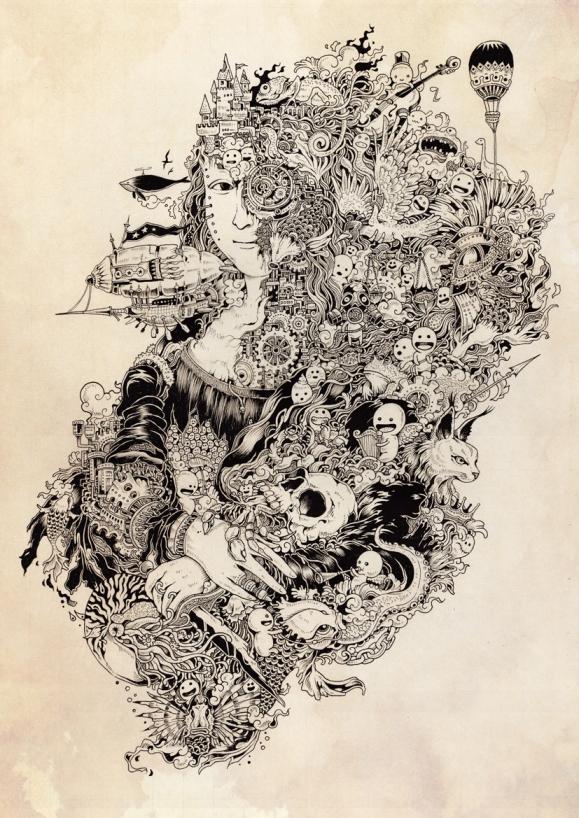 La Gioconda by Kerby Rosanes