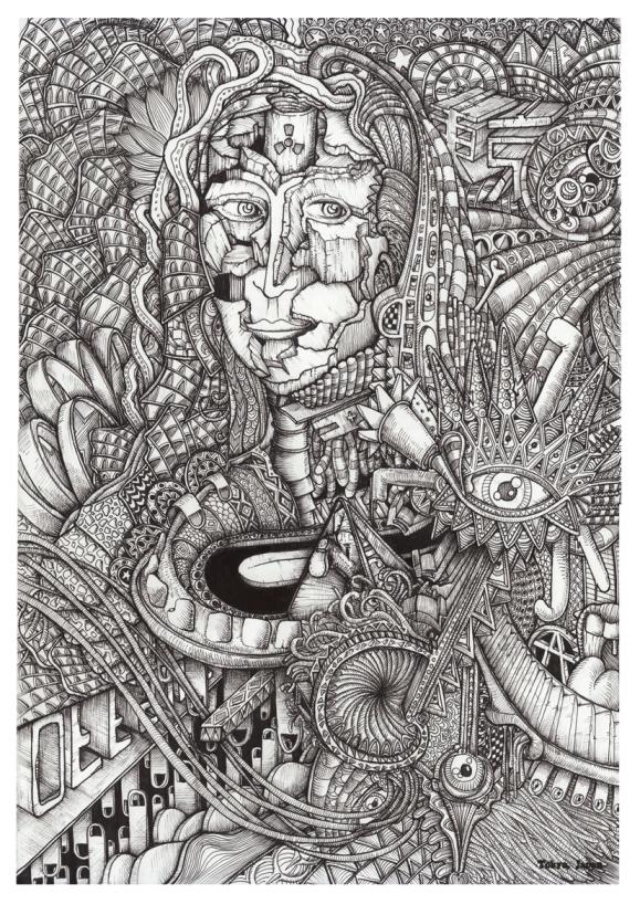 La Gioconda by Davy Bergier