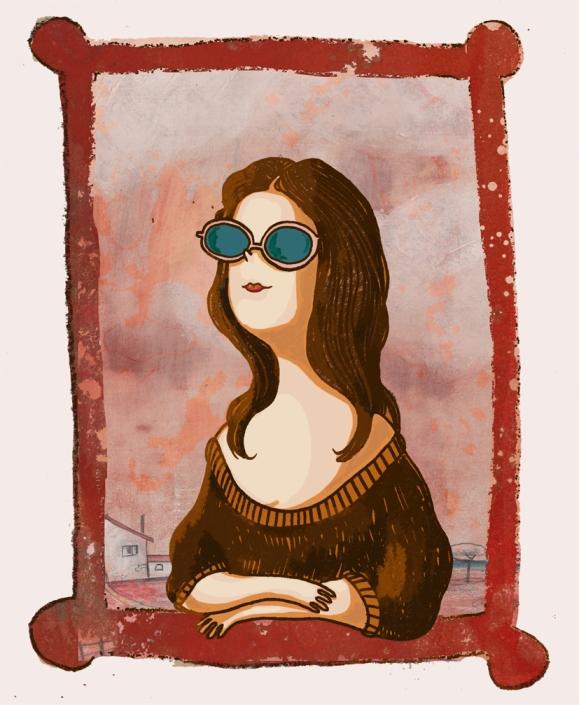 La Gioconda de Elva Vázquez Lombardía