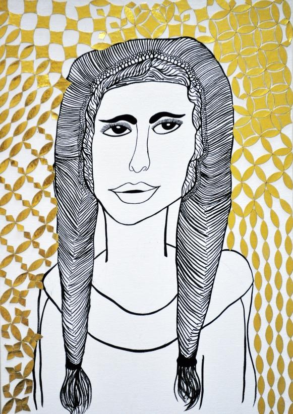 La Gioconda by Anjman Gill