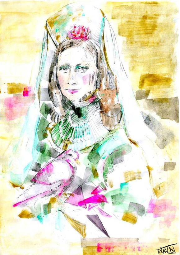 La Gioconda de María Luz Reyes Nuche