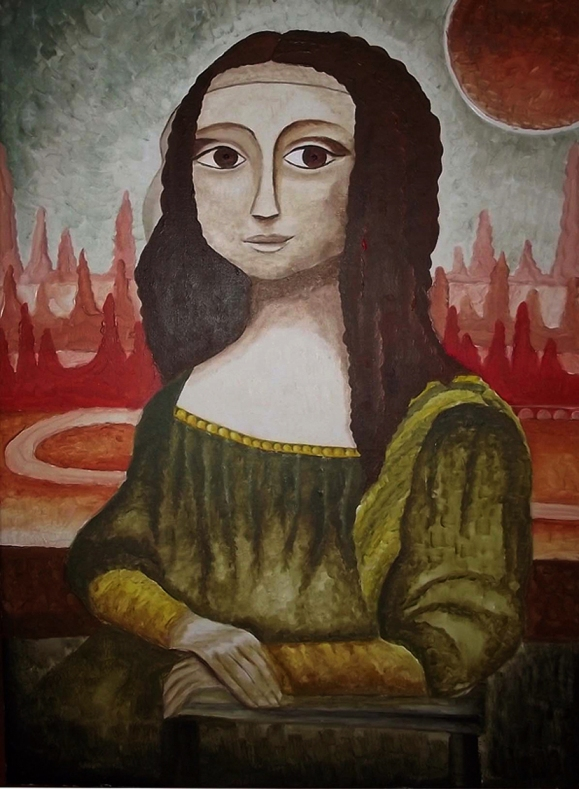 La Gioconda by Katka Hubinská